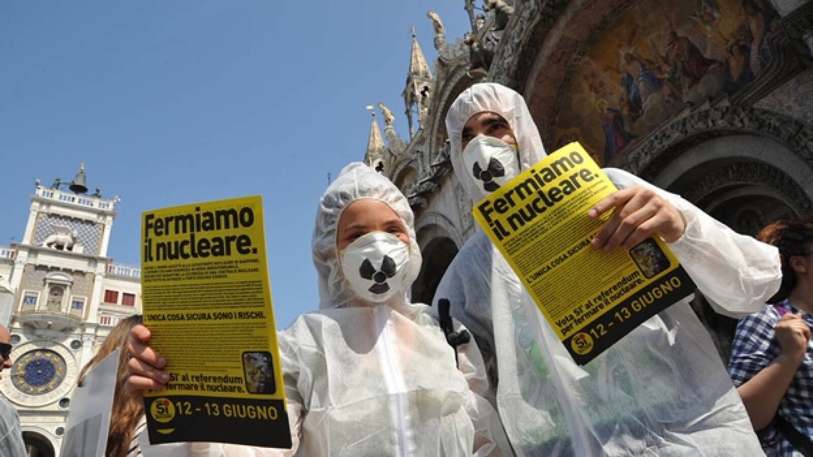 Chernóbil - 25 años - protestas Italia