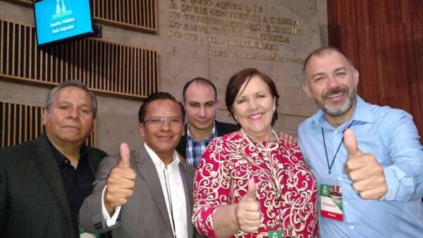 La Sala Superior del TEPJF avaló el registro de la expanista Ana Teresa Aranda Orozco como candidata independiente a la gubernatura del estado.