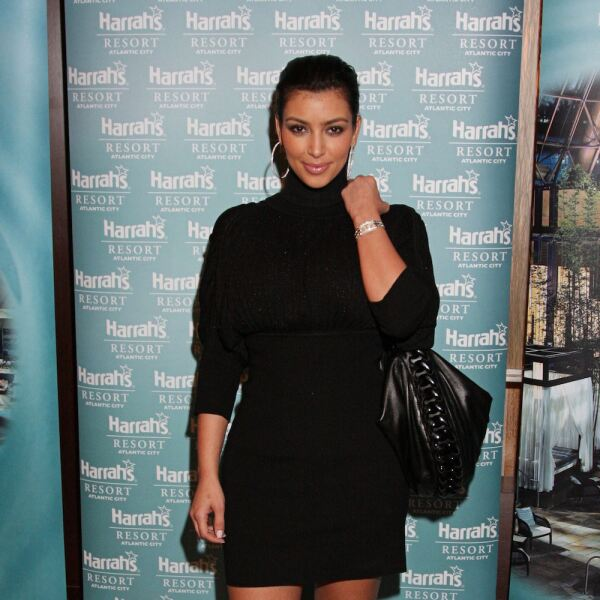Kim Kardashian Appears At The Pool  At Harrah's In Atlantic City, NJ