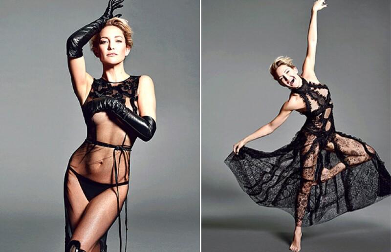 Además de posar con poca ropa, la actriz presumió que para lograr su cuerpo de envidia, solo le toma menos de media hora de su tiempo.