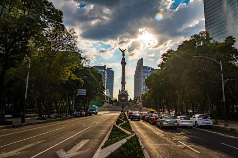 Angel of Independence Monument - Mexico City, Mexico
