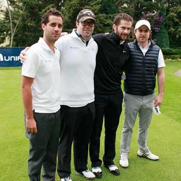 Rodrigo Lebois,Santiago de la Torre,Santiago Creel y Adolfo Fernández