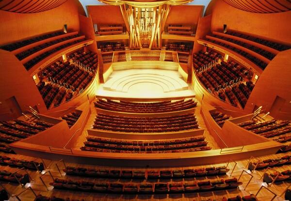 Disney Music Hall.