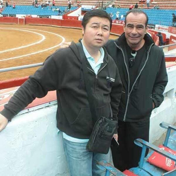 Alfonso Sánchez-Aedo y Enrique Domínguez