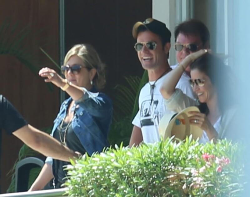 Uno de los lugares favoritos de Aniston para vacacionar es México.