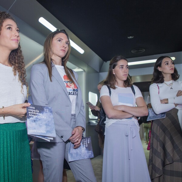 Daniela Armida, Jessica Winterman, Cecilia Brockmann, María Mina