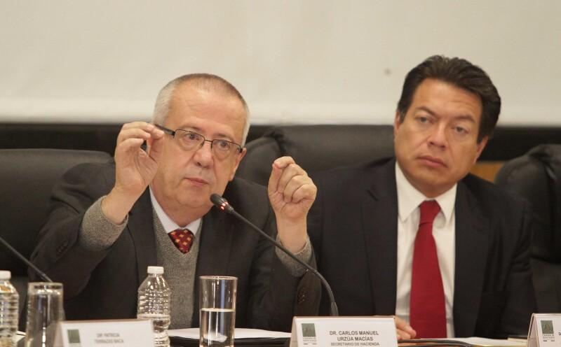 Reunión de titular de Hacienda con diputados