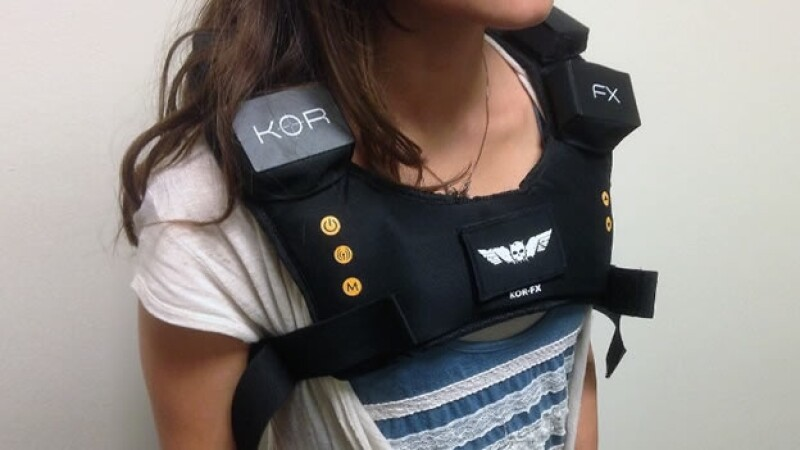 chaleco vibrador realidad virtual