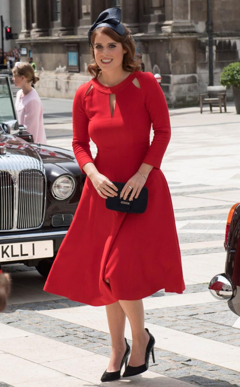 Este viernes iniciaron los festejos oficiales por el 90 aniversario de la reina con una misa en la Catedral de San Pablo. ¿Quiénes fueron los miembros de la realeza que más llamaron la atención?