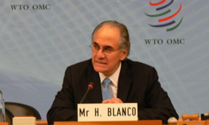 Herminio Blanco busca ser el nuevo líder de la OMC desde el 1 de septiembre. (Foto: Notimex)
