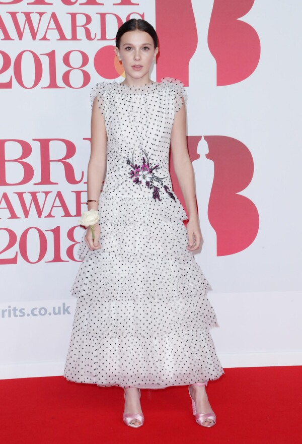 38th Brit Awards, Arrivals, The O2 Arena, London, UK - 21 Feb 2018
