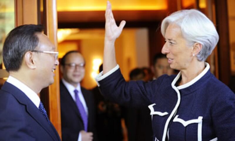 La ministra de Economía francesa habló con su homólogo chino sobre su candidatura al FMI. (Foto: Reuters)
