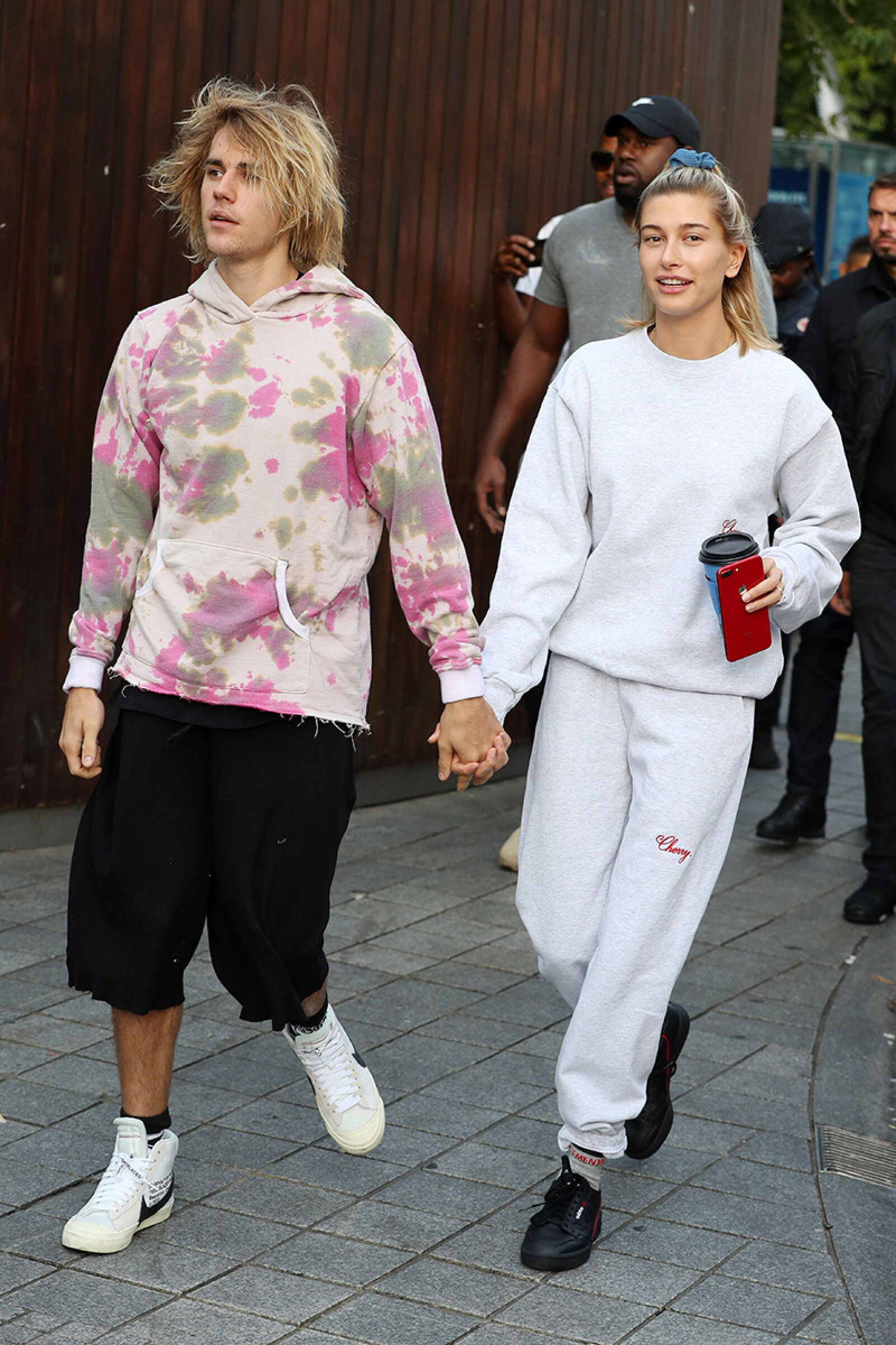 Justin Bieber and Hailey Baldwin out and about, London, UK - 18 Sep 2018