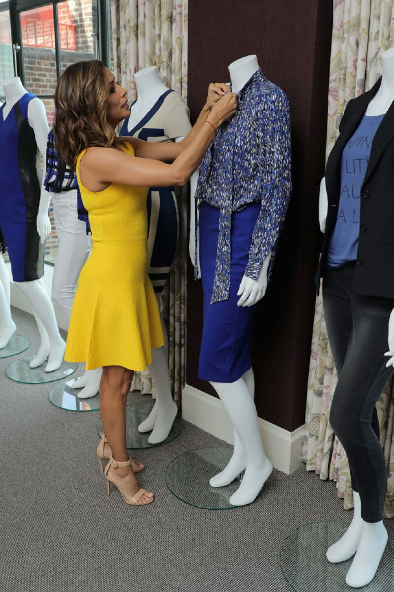 La actriz y esposa de Pepe Bastón podría haber insinuado que dejará la actuación para dedicarse a la moda, algo que desde siempre le ha apasionado.