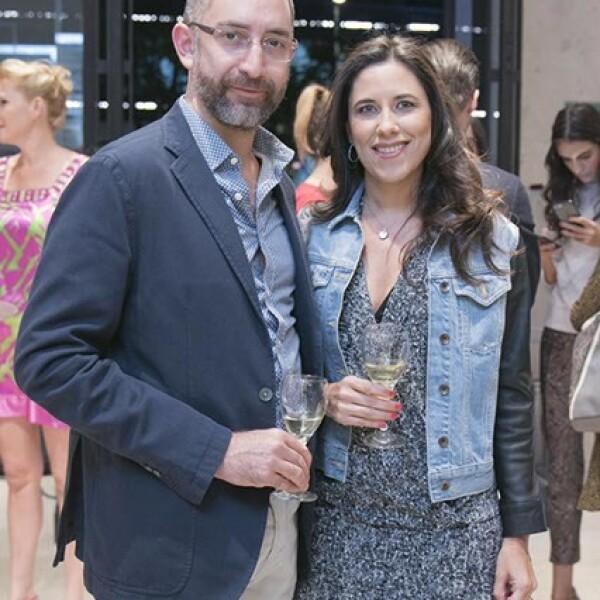 Paul y Cristina Sckurovich