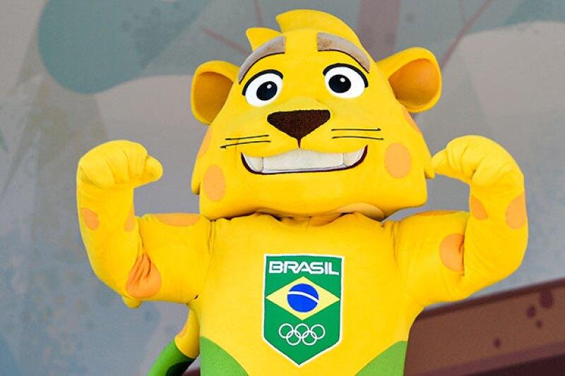 Ginga es la mascota de Río de Janeiro 2016.