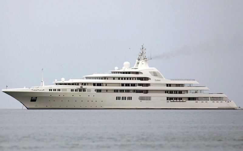 El Dubai, embarcación oficial de los Emiratos Árabes Únidos.