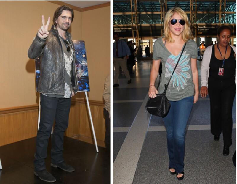 Shakira, quien fue invitada por Juanes a escribir una columna en la edición del diario El Tiempo que coordinó este domingo, exhortó a sus compatriotas a que se adhieran al proceso de paz.
