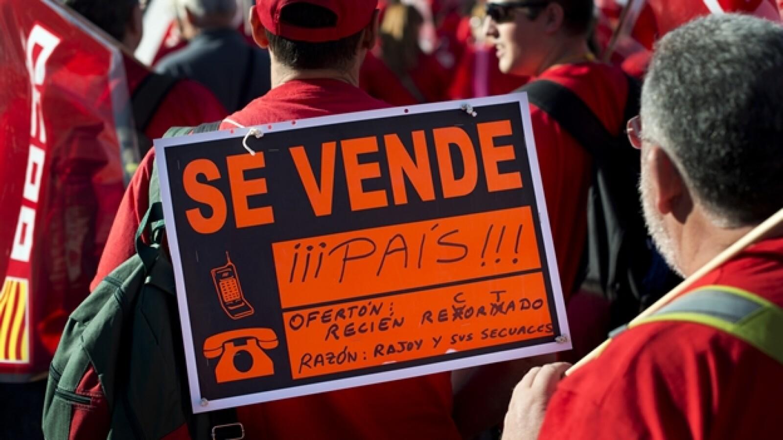 España crisis marcha 5