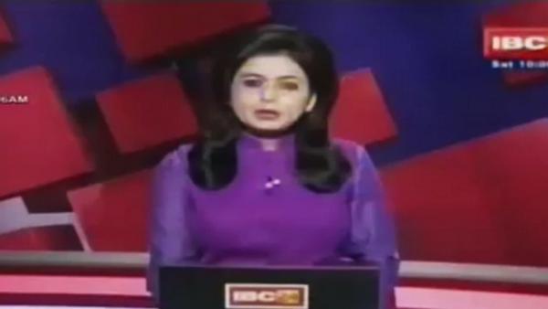 Presentadora reporta la muerte de su esposo en vivo