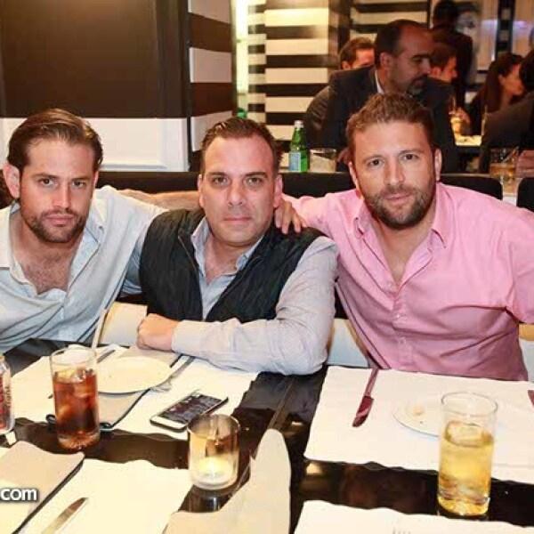 Miguel Alonso,Salvador Jáuregui y Alonso Orozco