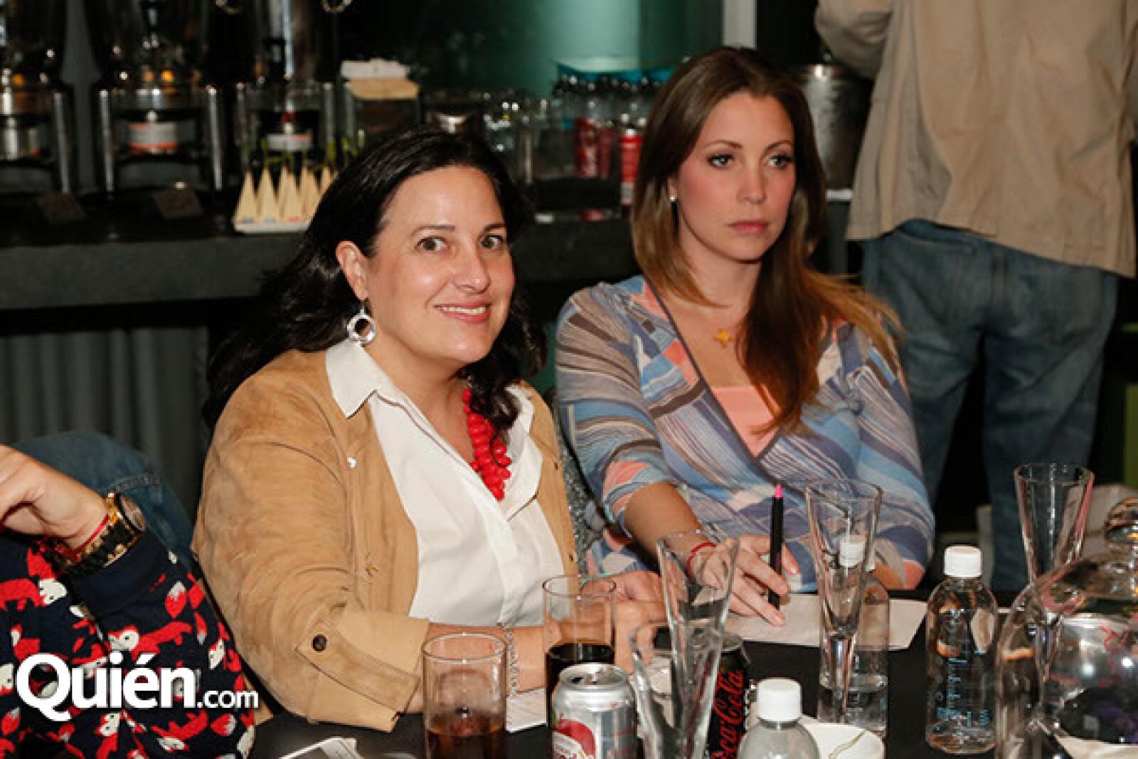 Paulina Breton y Angeles Portilla