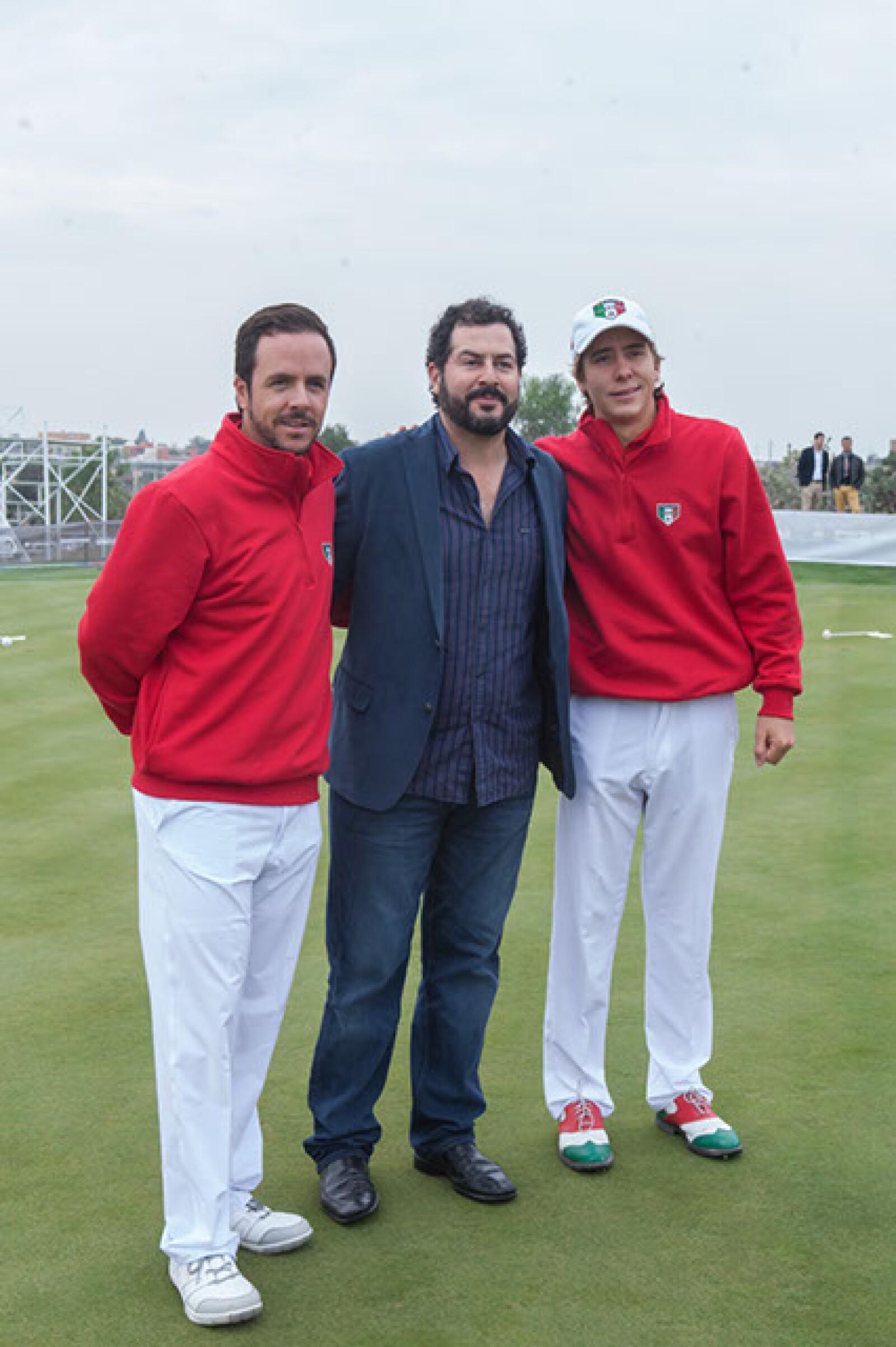 Óscar Frausto,Agustín Piza y Carlos Ortiz