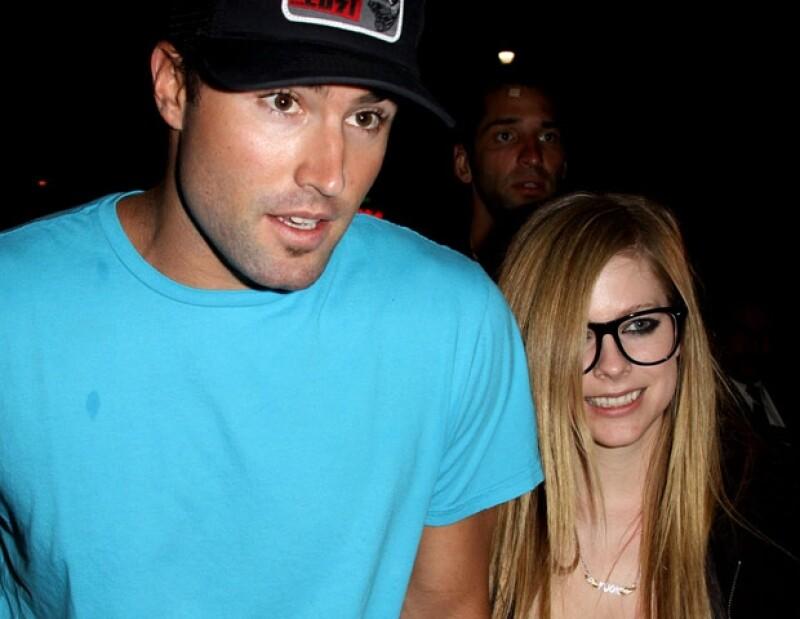 Avril y Brody comenzaron a salir en 2009.