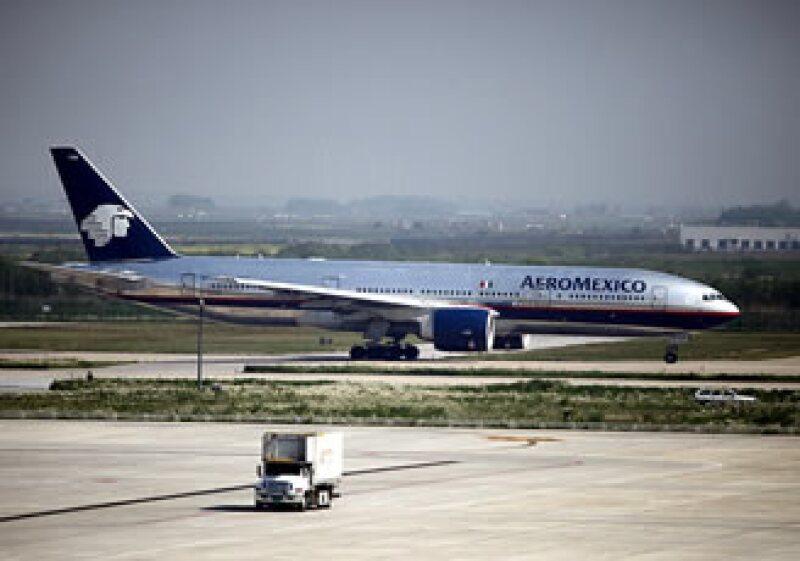 Los vuelos afectados de Aeroméxico fueron el de Miami-México y Houston-México. (Foto: AP)