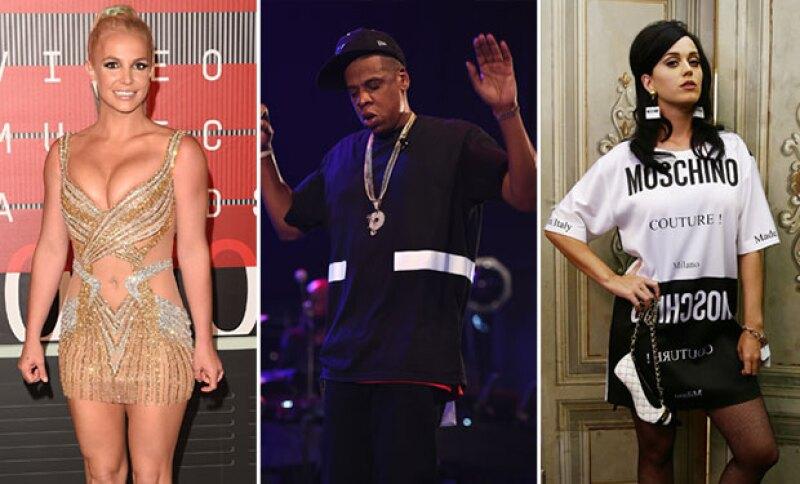 Britney Spears, Jay Z, Katy Perry y otras siete celebridades aparecen este año en la lista de Intel Security.