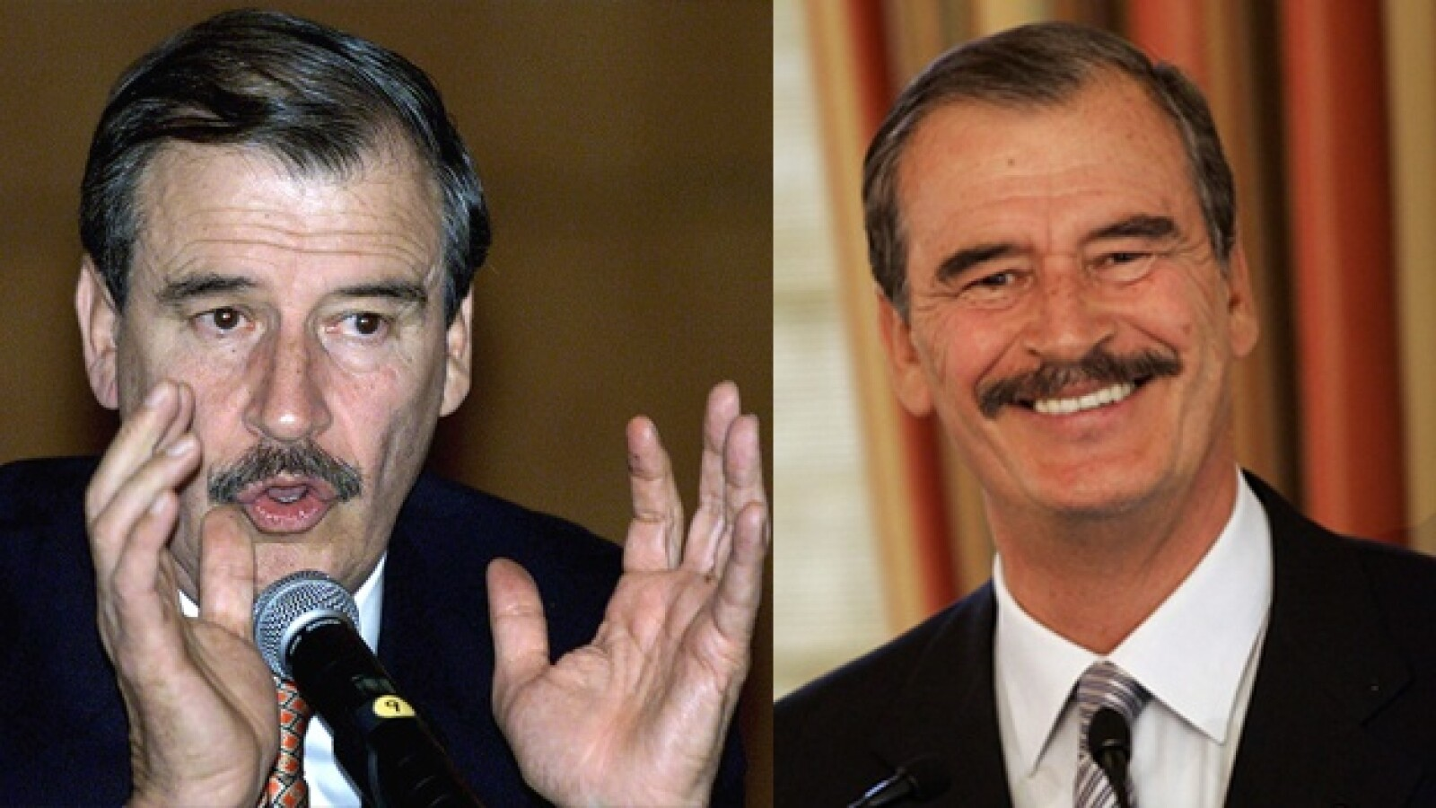 Vicente Fox antes y despues presidentes