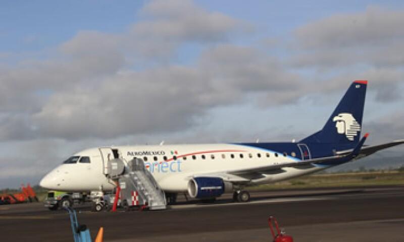 Las ventas de Aeroméxico subieron 9% en el segundo trimestre de 2014 respecto al mismo lapso del año pasado. (Foto: Cuartoscuro)