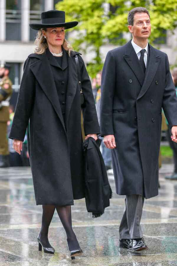Grand Duke Jean Funeral Mass, Catherdral Notre-Dame, Luxembourg - 04 May 201