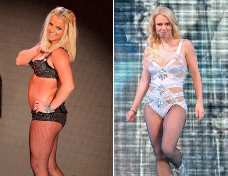 En 2013 la cantante fue criticada por tener un supuesto sobrepeso.