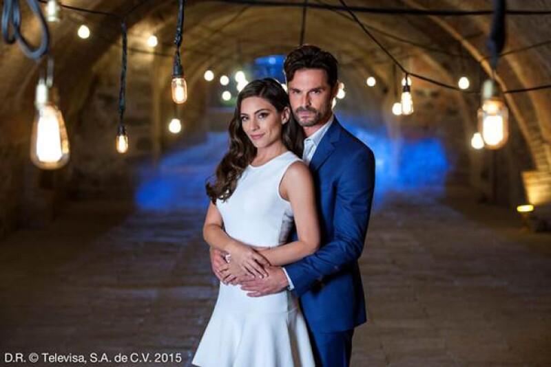 El amor de Verónica y Martín rebasó la ficción.