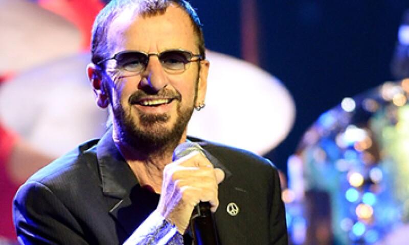 Ringo Starr entró al Salón de la Fama por su méritos como solista. (Foto: Getty Images )