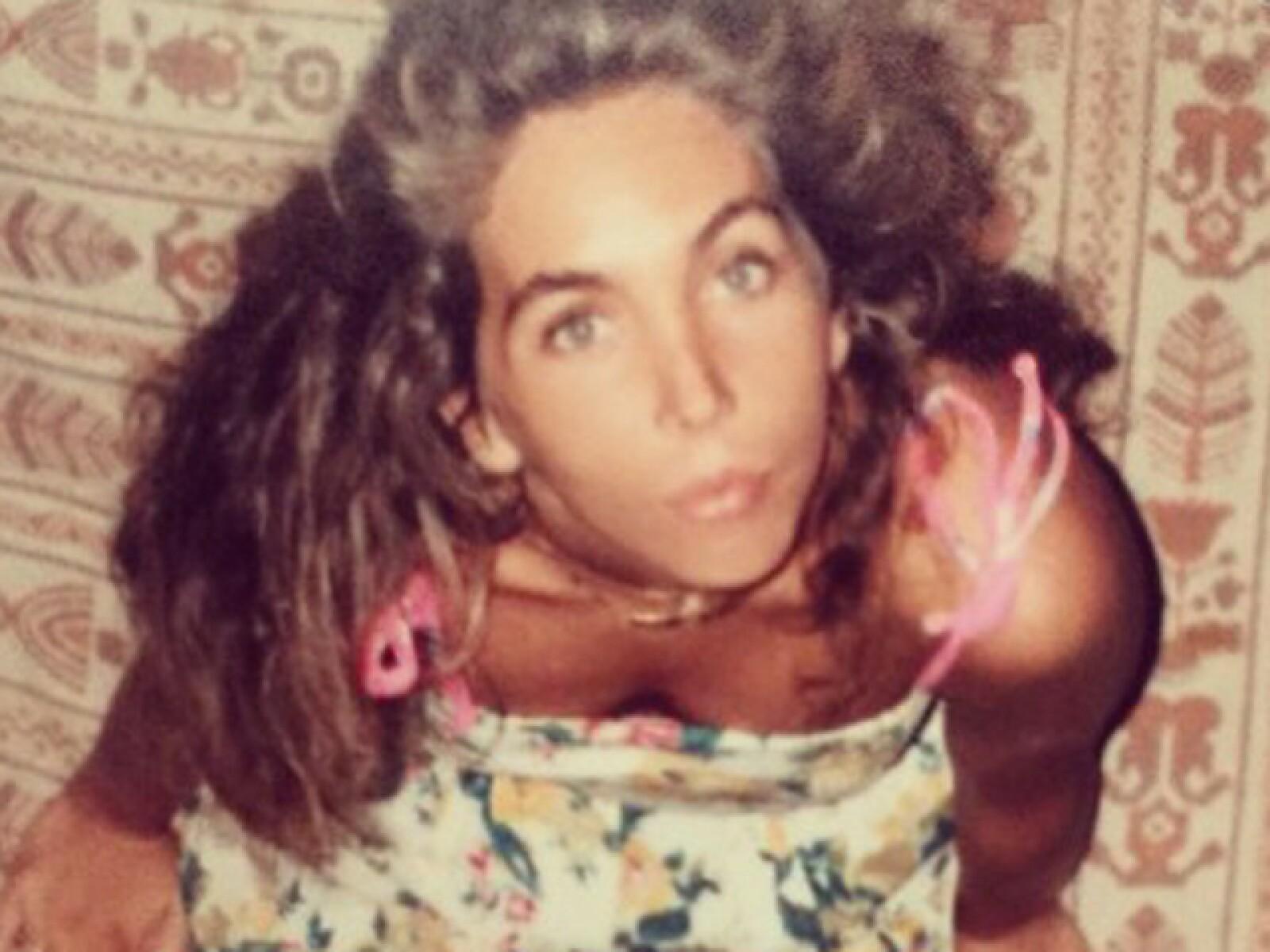 Belinda y Nacho Peregrin compartieron este #throwback de su mamá