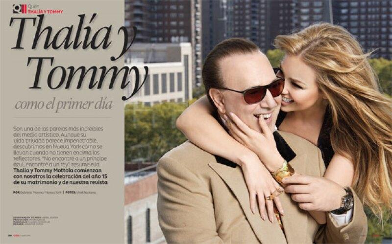 Tommy ha sido un gran apoyo en los momentos difíciles de Thalía.