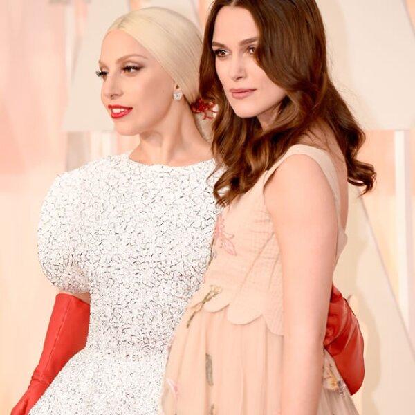 Keira Knightley, Lady Gaga.