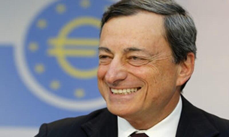 El BCE, dirigido por Mario Draghi, busca mejorar las expectativas sobre Europa.  (Foto: Reuters)