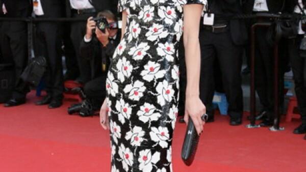 En un vestido estampado se ve espectacular.
