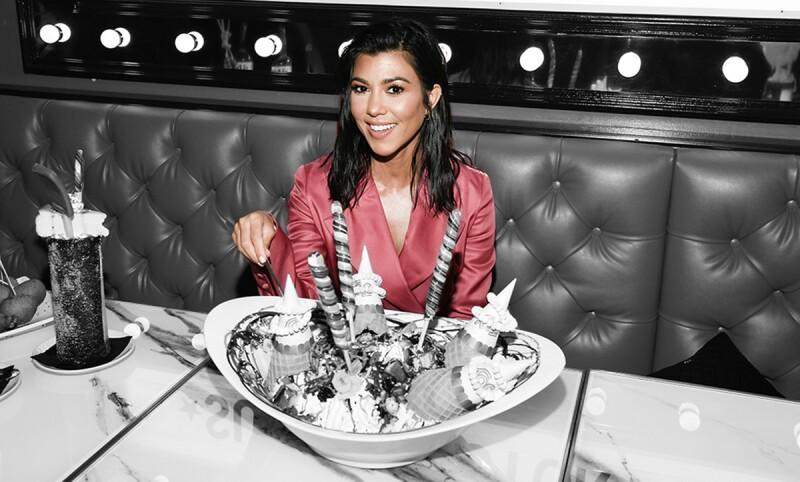 Kourtney Kardashian Hosts The Grand Opening Of Sugar Factory At Hard Rock Hotel & Casino Atlantic City