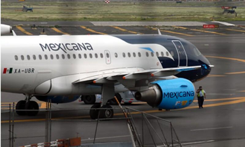 Aeroméxico, Interjet y VivaAerobus manifestaron resistencia para devolver las rutas o algunas frecuencias de Mexicana. (Foto: Notimex)