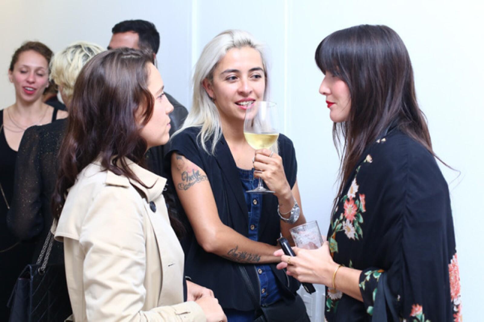 Olga Laris, Laura Carrillo y Eréndira Ibarra