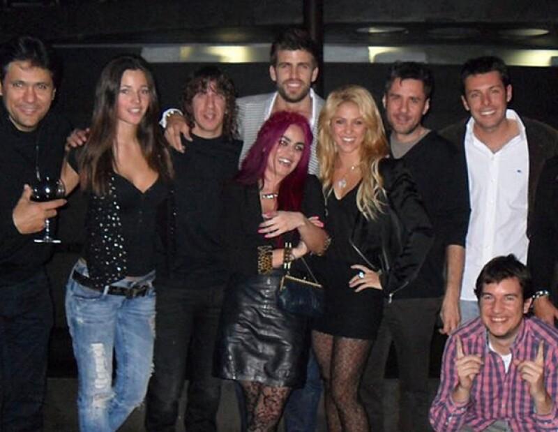 Shakira y Piqué subieron esta foto para que el mundo supiera que celebraron juntos su cumpleaños.