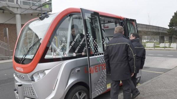 Un autobús autónomo y eléctrico circulará en una universidad francesa