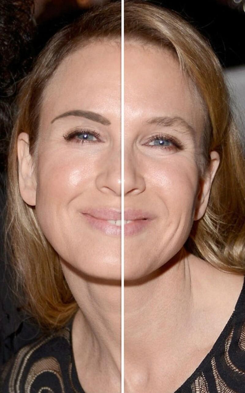 Sorpresa e incredulidad ha causado la apariencia actual de la actriz, por lo que algunos medios han ofrecido sus propias teorías de lo que sucede con el rostro de Renée.