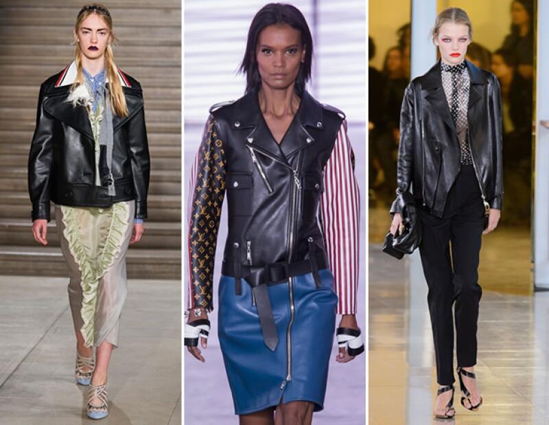 Presenciamos las pasarelas más importantes de esta semana de la moda como Chanel y Louis Vuitton. En éstas, nos enamoramos de las chamarras de piel, los holanes y motivos tribales.