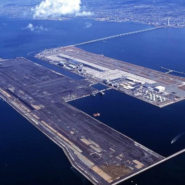 Aeropuerto Kansai, Osaka, Japon
