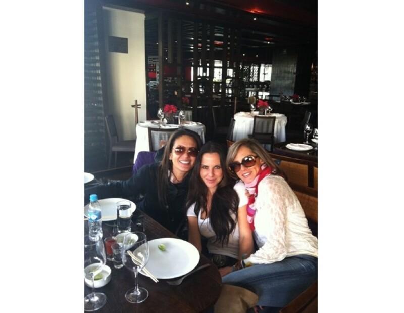 La popular actriz se encuentra de visita en México, tras un año lleno de mucho trabajo en el extranjero.